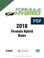 2018 Formula Hybrid Rules Rev 0