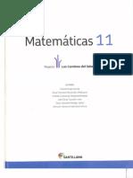 Libro de 11 Matematicas