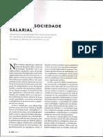 Revista Cult 227. O Fim Da Sociedade Salarial