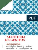 Auditoria de Gestion ,Mia