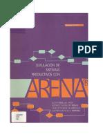 SIMULACION DE SISTEMAS PRODUCTIVOS CON ARENA. FABREGAS ARIZA, ALDO