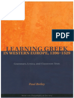 Paul Botley - Learning Greek in Western Europe, 1396-1529_Grammars, Lexica, and Classroom Texts.pdf