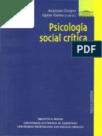 Anastasio Ovejero Et Al - Psicología Social Crítica