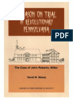 David W. Maxey - Treason on Trial in Revolutionary Pennsylvania_The Case of John Roberts, Miller.pdf