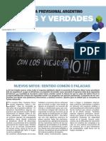 MITOS Y VERDADES. Sistema Previsional Argentino