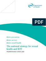 DH National Strategy for Sexual Health and HIV Action Plan v2002