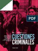 Cuestiones Criminales (2018)