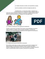 Componentes de Nuevos Modelos Educativos Acordes a Las Expectativas Sociales