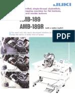 AMB 189&R,Brochure