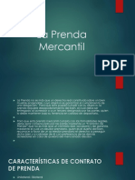 La Prenda Mercantil