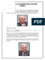 Médicos Fiscos Quimicos Ganadores Del Premio Nobel