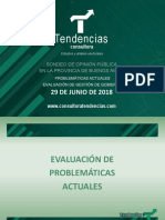 Estudio de Tendencias de junio de 2017 en la provincia de Buenos Aires