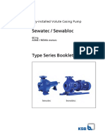 Type Series Booklet Sewatec ASME-NEMA Motors