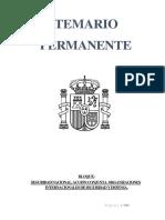 Permanente 2018 Por Jcss Bloque Seguridad Nacional, Accion Conjunta y Organizaciones Internacionales de Seguridad y Defensa.
