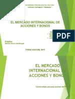 Mercado Internacional Acciones y Bonos