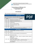 Programação FORPLAD Campo Grande 06jun2018