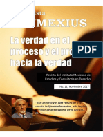 REVISTA INMEXIUS N. 11 (2017).- La Verdad en El Proceso y El Proceso Hacia La Verdad.