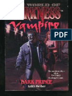 Herber, Keith - [the World of Darkness - Vampire] 01 - Dark Prince