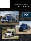 Freightliner contruction trucks