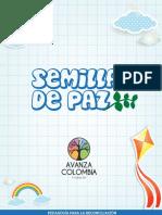Brochure Semillas de Paz- Avanza Colombia