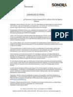 06/02/18  Anuncia Secretario de Economía Cumbre Sonora 2018 y edición XXV de Álamos Alliance –C.021826