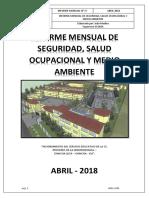 Informe Mensual Abril Sst