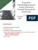 Propuesta Metodológica para el nuevo inventario Forestal de Guatemala