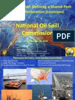 Garret Graves Oil Spill Commission 09-28-10