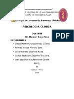 Pscicologia Del Desarrollo Humano Adulto