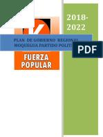 Plan de gobierno de Fuerza Popular en Moquegua