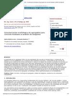 Revista Ingeniería de Construcción - Caracterización Morfológica de Agregados Para Concreto Mediante El Análisis de Imágenes