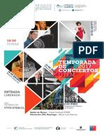Programa Concierto Roberto Bravo 12julio2017