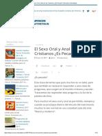 El Sexo Oral y Anal en Los Cristianos ¿Es Pecado_ _ Recursos Adventistas