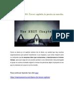 Diario de Un CHO Tercer Capitulo, La Puesta en Marcha.
