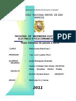 Informe 1 - Sistemas de Puesta a Tierra - Medidas ELectricas II