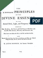 395459 Jacob Bohme Vol 1 II Three Principles