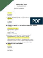 Simulacro Ciencias Sociales - Profesor Jorge Camara - Technology School Paramonga