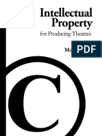 Intellectual Property for Producing Theatres - SAMPLE - Music Licensing