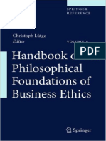 Handbook of the Philosophical Foundations of Business Ethics 2013th Edition {PRG}