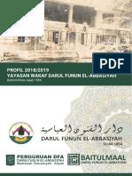 Profil Yayasan Wakaf Darul Funun El-Abbasiyah 2018-2019