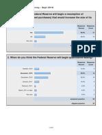 CNBC Fed Survey - September 27, 2010