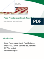 Case Food Fraud Prevention