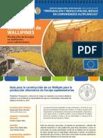 Contruccion de Wallipines en Bolivia