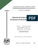 Aplicación Del Análisis Nodal Para Incrementar La Productividad de Un Pozo