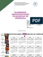 Calendario 2018 Cultural