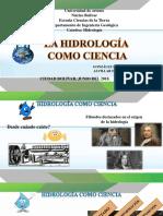 hidrología como ciencia
