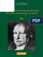[Cambridge Hegel Translations] Georg Wilhelm Fredrich Hegel_ Terry Pinkard (Ed.) - The Phenomenology of Spirit (2018, Cambridge University Press)