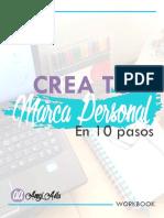 WorkBook Tu Marca Personal en 10 Pasos