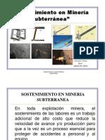 guía Sostenimiento en Minería Subterránea