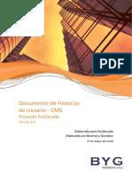Documento de Historias de Usuario PezDorado Sprint 1